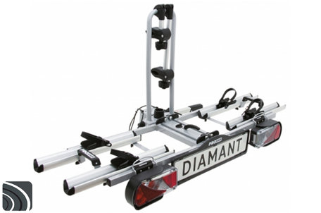 Pro-User Diamant (91739) | Trekhaak fietsendrager | Opvouwbaar