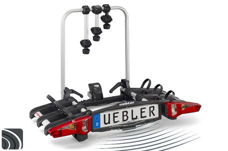Uebler i31 DC (15910 DC) | Trekhaak fietsendrager | parkeersensoren | 3 fietsen