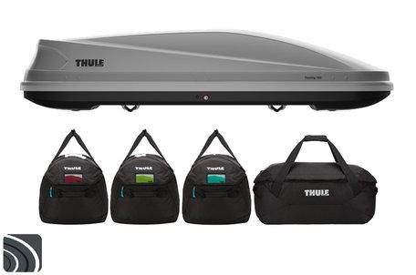 Thule Touring L dakkoffer | Titan Aeroskin | met Thule tassenset
