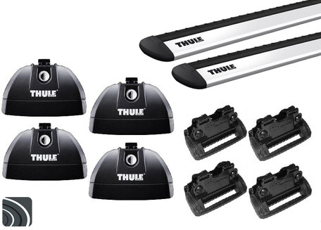 Thule dakdragers | Opel Ampera-e | vanaf 2017 | Dichte rails | WingBar Evo