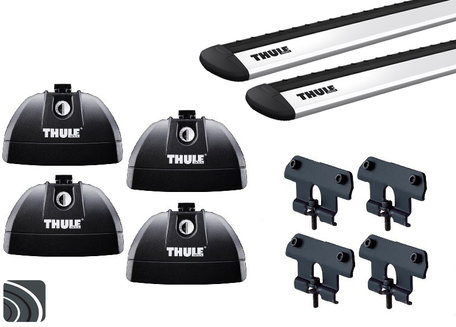 Thule dakdragers | Mazda 2 | 5-deurs van 2007 tot 2015 | WingBar Evo